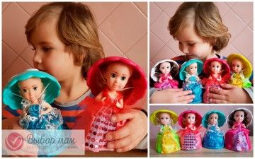 Кукла кексик капкейк Cupcake Surprise doll оригинал и подделка original and false