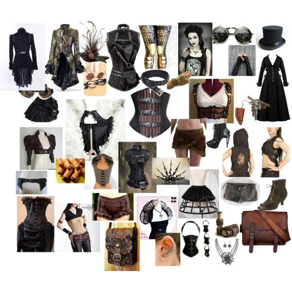 steampunk by elenilor on Polyvore featuring Neosens and HADES