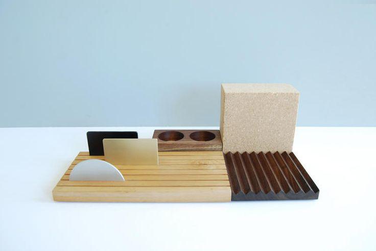Modular organization accessory for the desk by .ORG Deskscape.