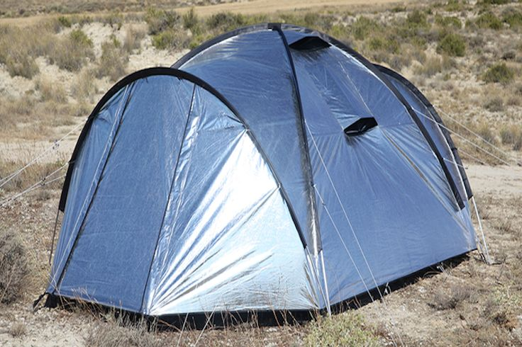 Siesta4 will definitely rank as a quintessential equipment for campers. It's a tent with thermal-resistant qualities.