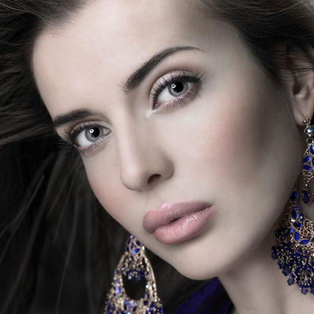 Летний макияж для серых глаз ::: onelady.ru ::: #makeup #eyes #eyemakeup