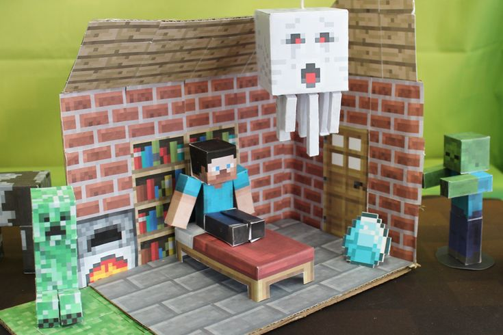 Minecraft Papercraft Studio - cool app that lets you make printables.