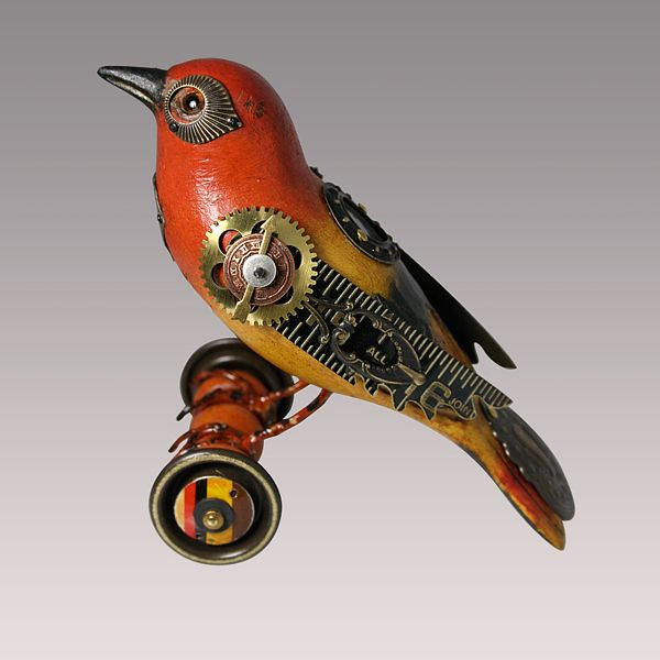 Bird Sculptures best 10+ steampunk bird ideas on pinterest | steampunk animals