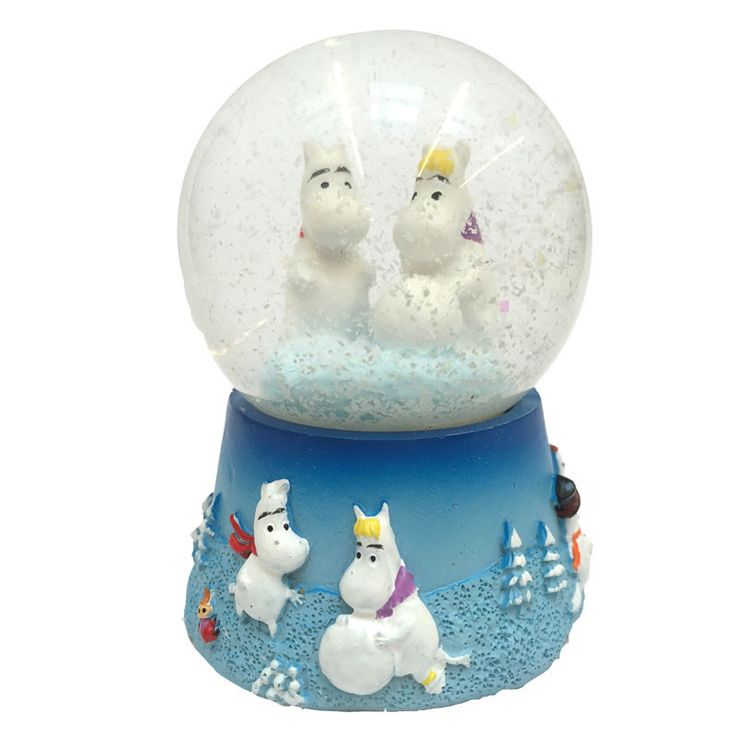 Moomin Snowglobe 80 mm - The Official Moomin Shop  - 1