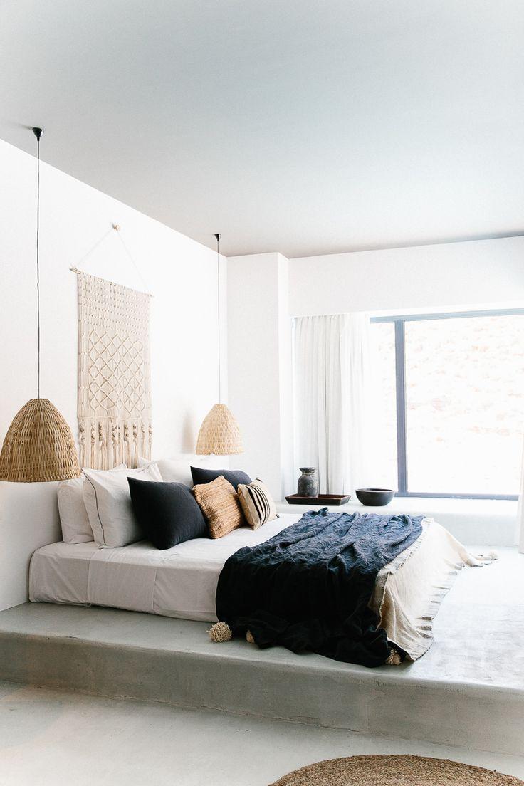 COCOON bedroom design inspiration bycocoon.com | interior design | villa design | hotel design | bathroom design | design products | renovations | Dutch Designer Brand COCOON | Casa Cook, Rhodes, Greece