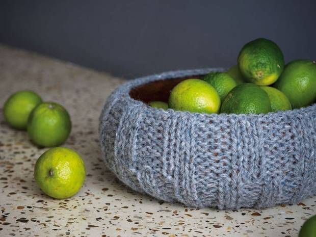 A project from the knitted home creative and contemporary projects for interiors by ruth cross