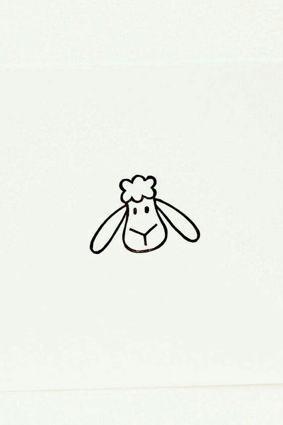 Sheep doodle Bujo