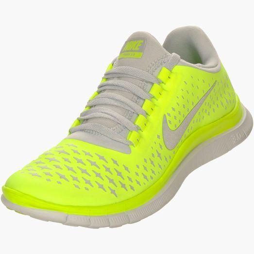 Womens Nike Free 3.0 V4.. Love the neon