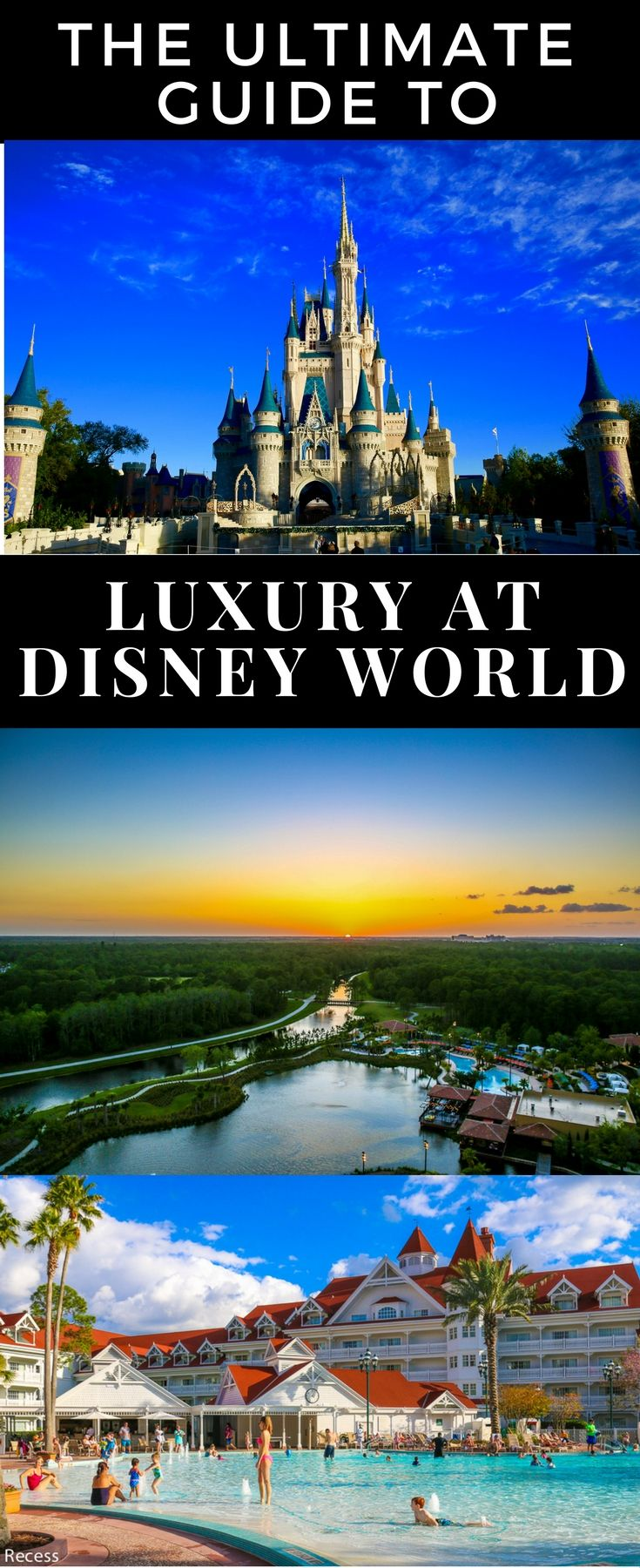 The best luxury hotels, spas, and restaurants reviewed at Disney World for a luxury Orlando vacation.