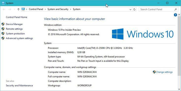 Cara mengubah nama komputer di Windows 10