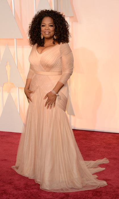 All the red carpet looks from the 2015 Oscars:Oprah Winfrey. Photo: Getty