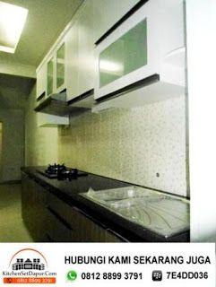 Jasa Bikin Kitchen Set Depok Hub 0812 8899 3791 BB 7E4DD036: Kitchen Set Minimalis Murah