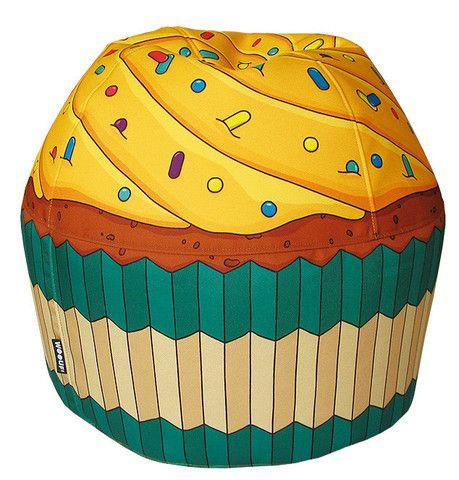 Cupcake Bean Bag Via Third Drawer Down