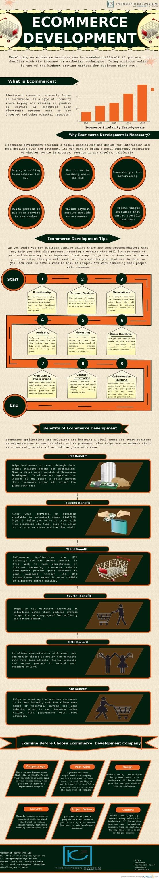 Ecommerce development #infografia #infographic #ecommerce