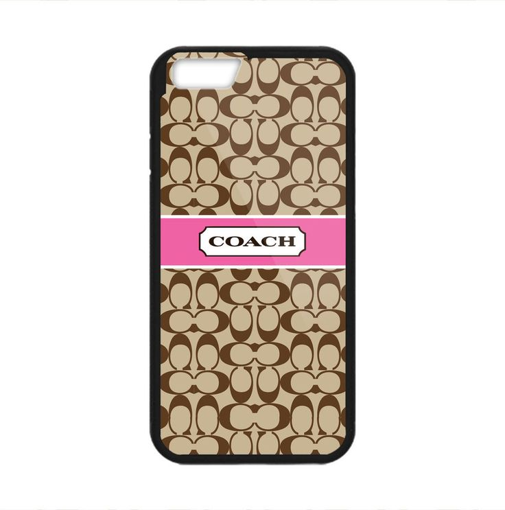 Coach Pattern Brown Custom Print On Hard Case For iPhone 6/6s/6s plus #UnbrandedGeneric