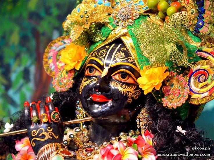 Sri Madhava Close up Wallpaper
