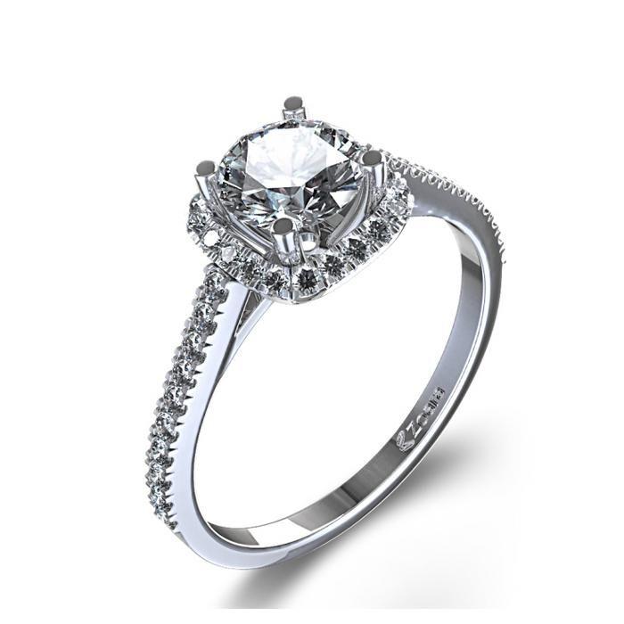 Engagement Ring Diamond Cut Styles 7