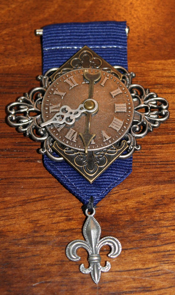 Steampunk badge