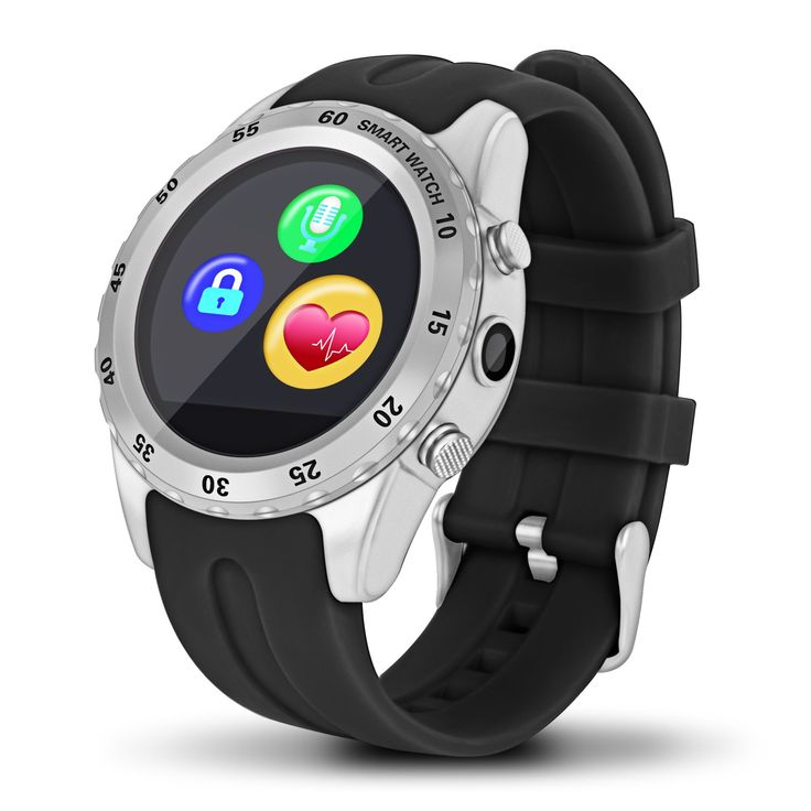 Highsound Heavy Duty Bluetooth Smart Watch (Silver). Stylish circular screen suitable for different people,pink one is perfect for girl.Good chooice for couple/lover as Valentine,birthday,Christmas,Thanks giving gift. Support magnetic charging and wireless charging. Anti-lost, GPS position,Step record for sports, calories calculation, movement mileage records,edentary remind,sleep monitor,heart rate monitor,alarm clock, calendar, stopwatch, calculators etc. Make calls and play music for...