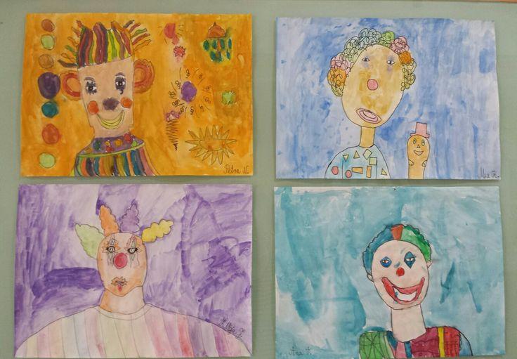 Osnovne i izvedene boje;1.razred
