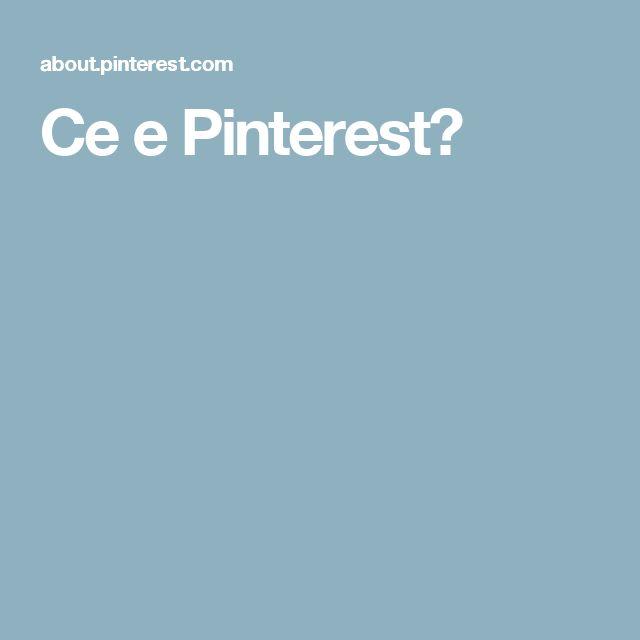 Ce e Pinterest?