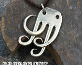 Forktopus Pendant -- Handmade From an Antique Sterling Silver Plated Fork -- An All New Doctor Gus Recycled Silverware Creation