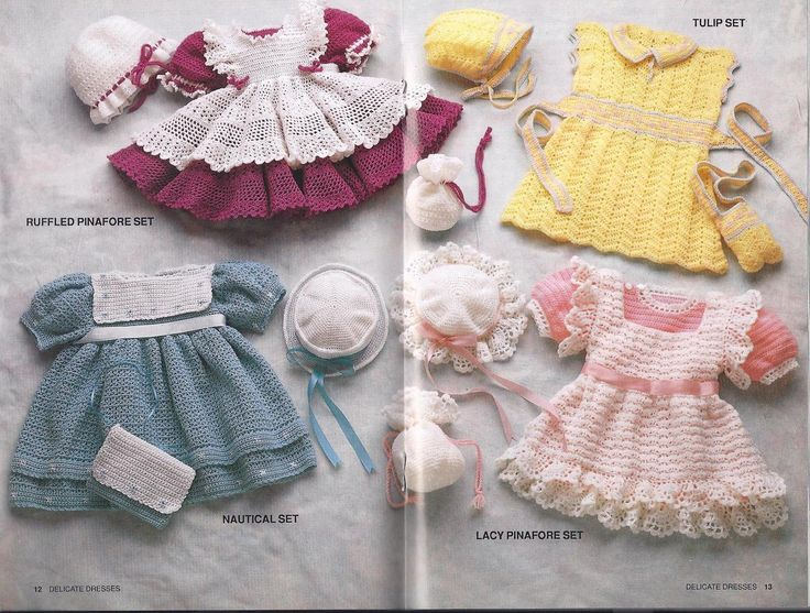 105 Best Crochet Baby Dresses Images On Pinterest Crochet Baby