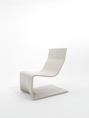 Silla Reclinada In White | Chair . Stuhl . Chaise | Design: | Design @