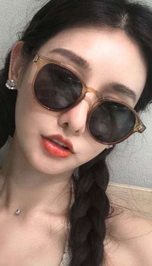 d7fe402d79 Fashiontroy Street Style black yellow leopared round-frame PC alloy  sunglasses
