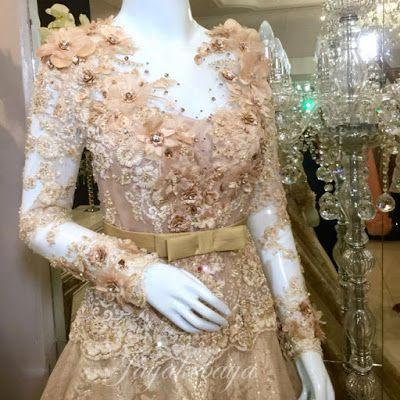 Amazing wedding dress kebaya modern 2016.