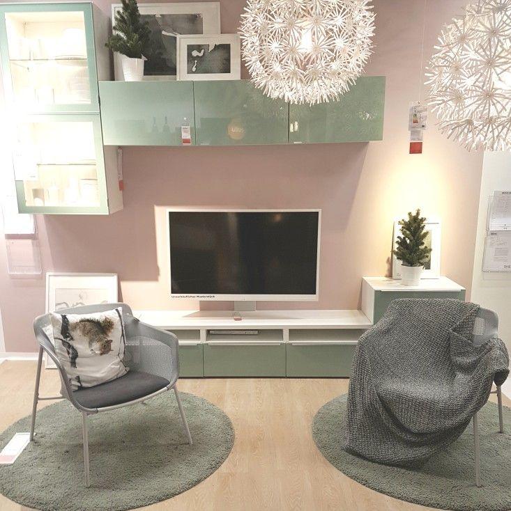 Besta Ikea Living Room Inspiration Mint / Green Ikea Wohnideen, Stauraum,  Balkon, Wohnzimmer