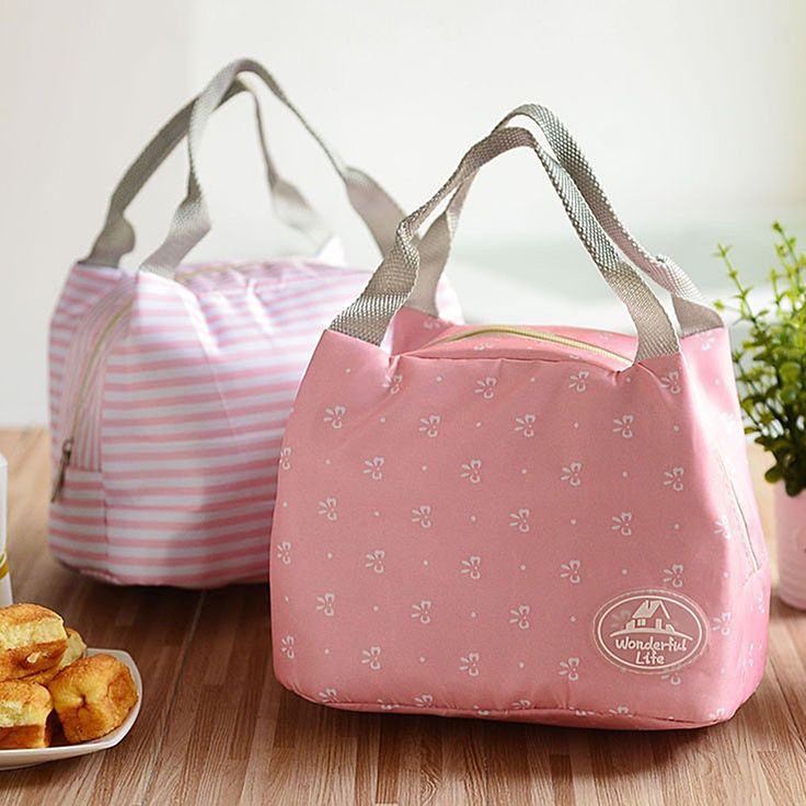 Portable 2016 Fashion Insulated lunch Bag Floral Thermal Food Picnic Lunch Bags for Women kids Men Cooler Lunch Box Bag Tote