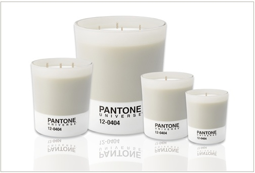 Pantone candles Light Grey