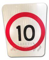 10km Speed Restriction sign $57.20 (Inc GST)
