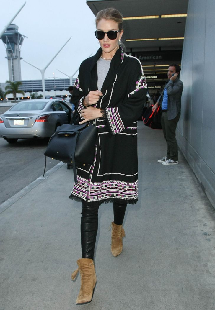 Celebrity-Approved Airport Style You Might Want to Try #RueNow