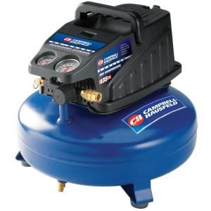 Campbell Hausfeld 4-Gal. Portable Electric Compressor-FP2080 at The Home Depot
