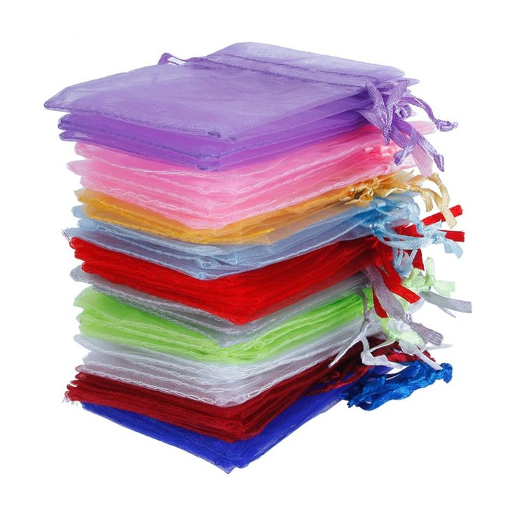 """Cheap bag gift, Buy Quality candy themed party favors directly from China candy messenger bag Suppliers: 100Pcs/set 2.8"""" X 3.5"""" Organza Jewelry Organizer Pouches Holder Wedding Party Christmas Favor Gift Candy Bags 7 x 9cm #225535"""
