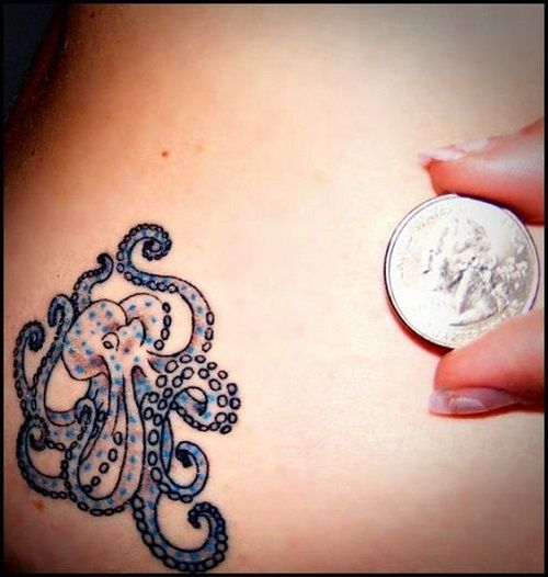 150+ Most Original Octopus Tattoo Designs And Meanings cool