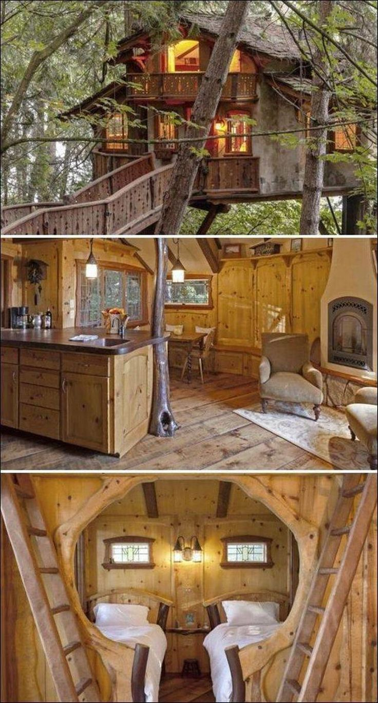 113 Wonderful Tree House DIY for more Family Time -