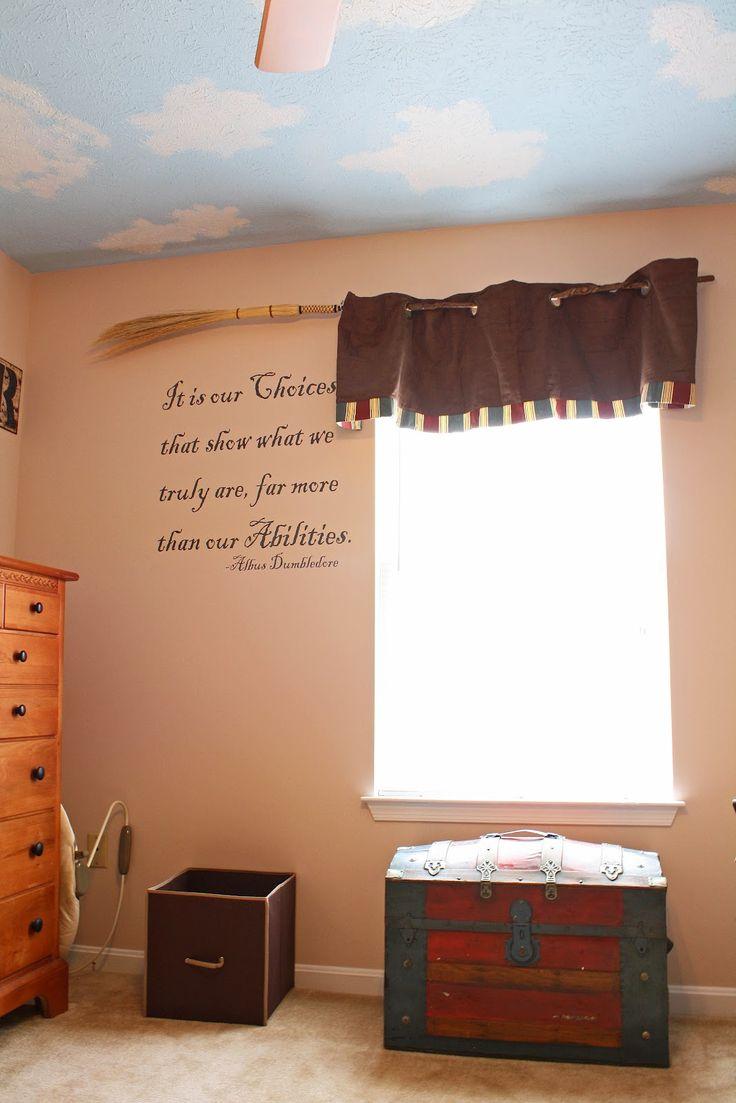1000 Ideas About Harry Potter Bedroom On Pinterest