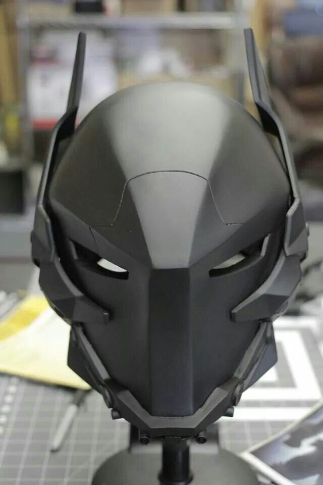 Arkham Knight Helmet.  More about batman here.