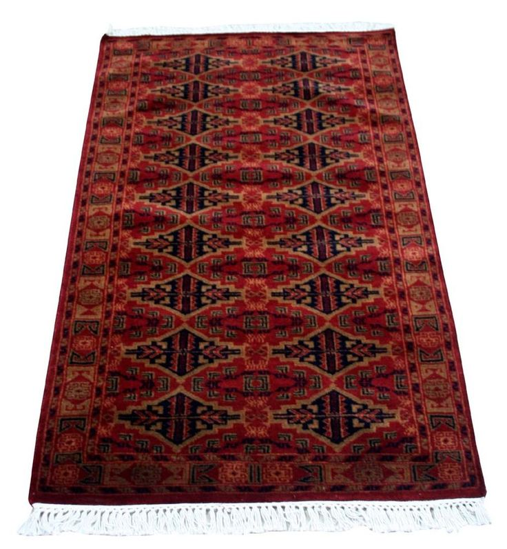 "Indian Hand knotted Persian Carpet 36""x60""Persian Wool Rug Oriental Area Rug EDH #Unbranded #carpet"