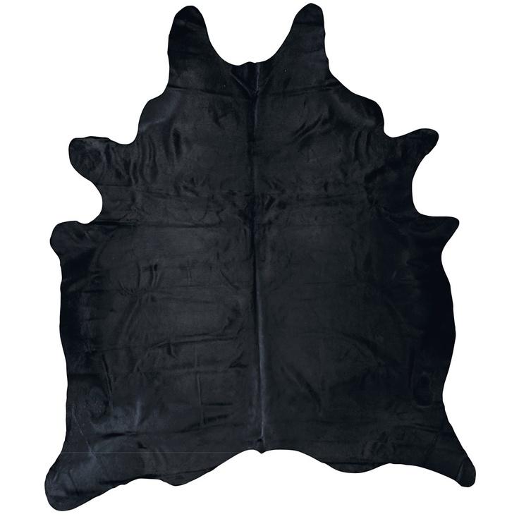Cowhide Rug - Black from Domayne