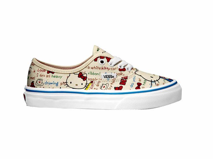Tenis Estampado de Hello Kitty para Niña Vans-Liverpool es parte de MI vida