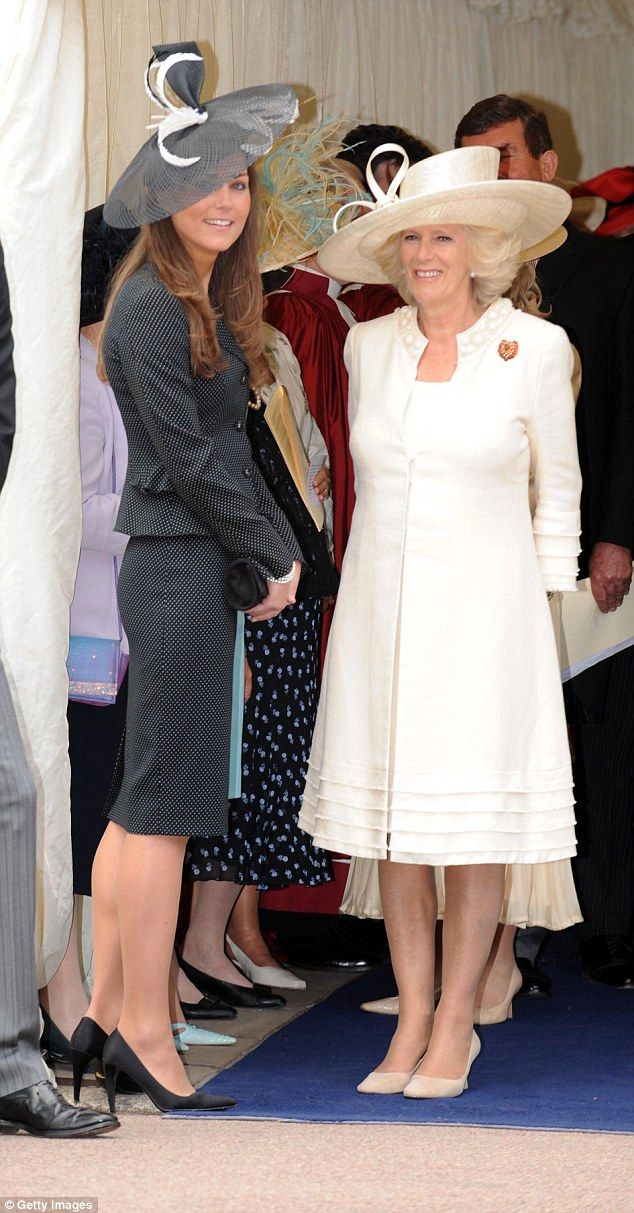 Camilla Parker Bowles was not on Team Kate - she didn't think Kate and her family were up ...