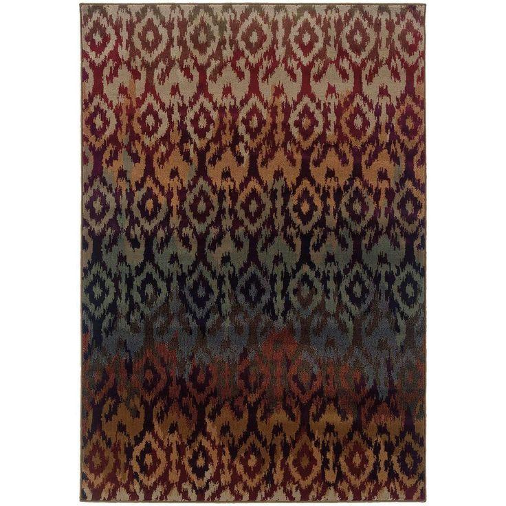 Adrienne 3809G Red Rug by Oriental Weavers