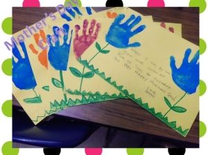 easy mother's day crafts for kids | Mother's Day craft from Easy preschool crafts