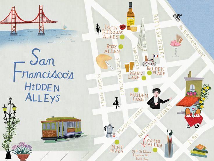 Hidden treasures in San Francisco's Alleyways