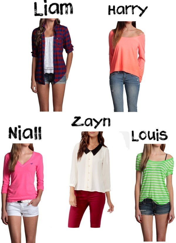 """1D preference - his fave outfit on you, plese comment if u like my preferences"" by browniebrunie ❤ liked on Polyvore"