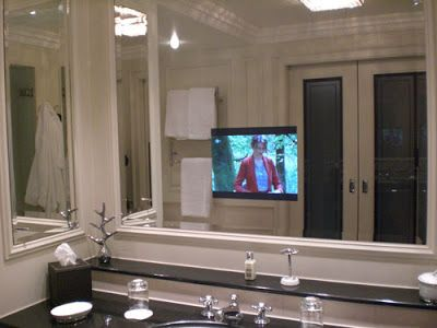 Good Mirror TV for bathroom
